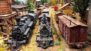 The Best and Most Detailed Large - Scale Model Railroad layout in the World 4K UHD