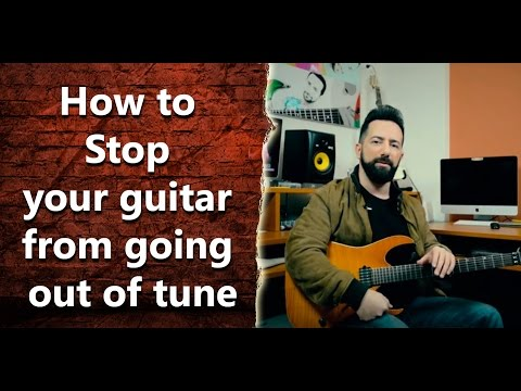 How Can I Stop My Electric Guitar From Going Out Of Tune? - INT 036