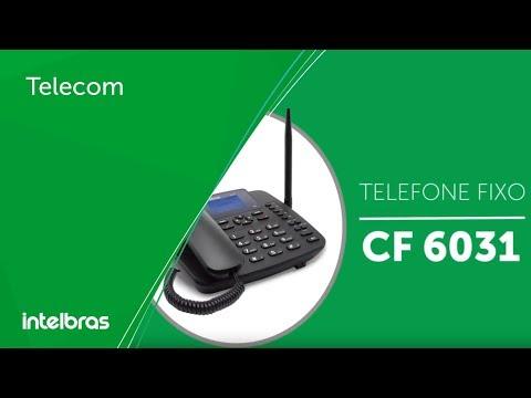 Telecom | Telefone Celular fixo CF 6031