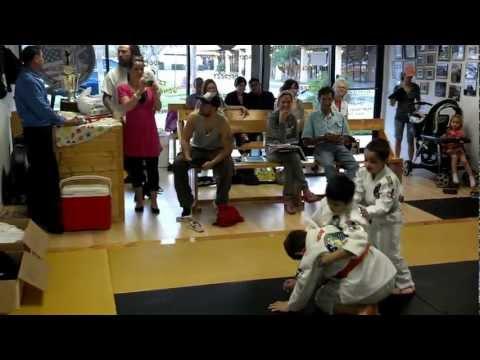 Kids 2013  BJJ Training Video 5