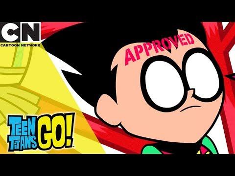 Teen Titans Go! | Avoiding the Red Tape | Cartoon Network