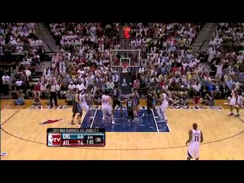 Hawks vs. Magic - Game 6 Eastern Conference First Round 2011 NBA Playoffs (28-04-2011)