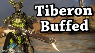 Warframe   Tiberon [Buffed] (5 Forma Build)