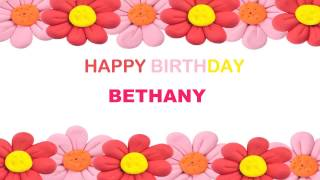 Bethany   Birthday Postcards & Postales