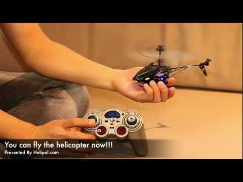 HeliPal.com - WL S977 Micro Spying Helicopter Test Flight