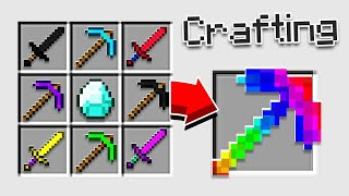 QUEST TO CRAFT THE PERFECT PICKAXE!!