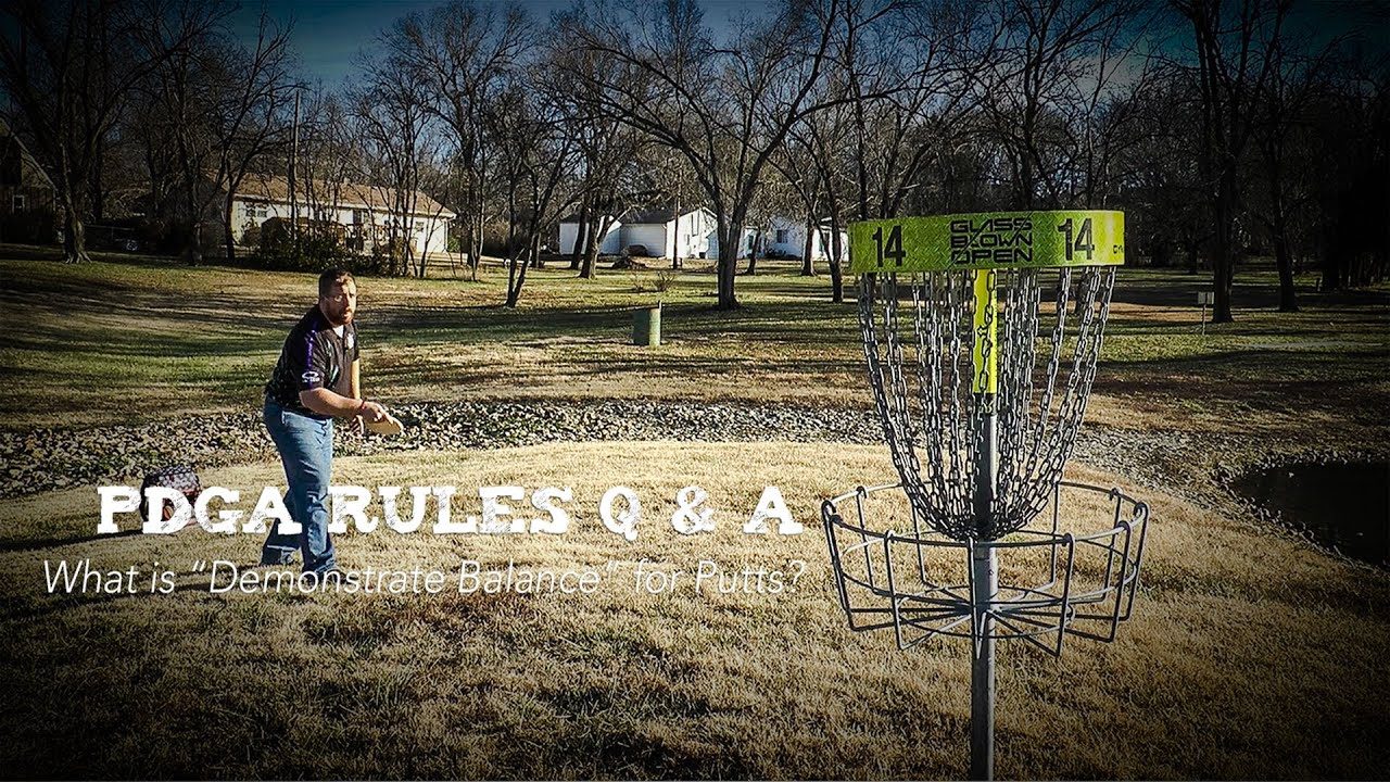 How to Push Putt in Disc Golf pictures