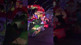 Christmas Light Display in Plano  || ViralHog