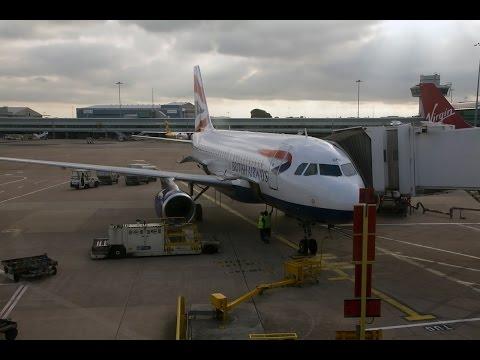 British Airways | Airbus A319 | MAN-LHR | Business UK