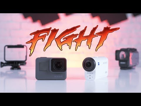 GoPro Hero 6 vs Sony X3000 – сравнение лучших экшн-камер