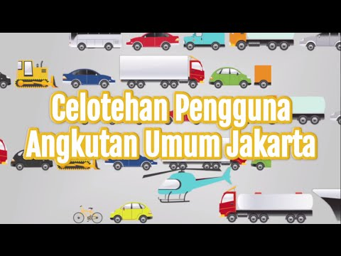 Celotehan Pengguna Angkutan Umum Jakarta [Presented By Jakarta Monorail]