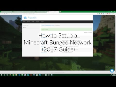 How To Setup a Minecraft Bungee Network on a Minecraft Host (2018 Guide - Any Version)