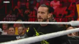 Mason Ryan w/ The Nexus vs Kane Raw 2/5/11