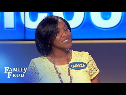 You won't BELIEVE what wifey has in the trunk! | Family Feud