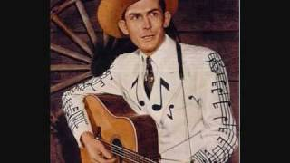 Watch Hank Williams You Caused It All By Telling Lies video