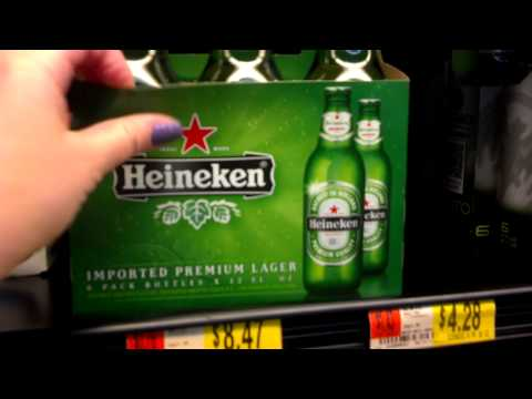 США Магазин Walmart. Пиво.
