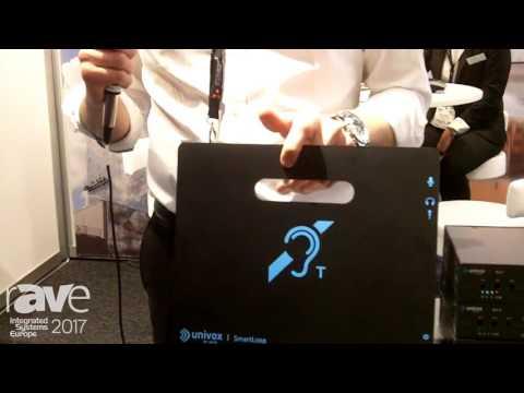 ISE 2017: Univox Adds New SmartLoop Portable Hearing Loop