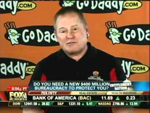 Bob Parsons TV interview on Fox Business about new Obama agency
