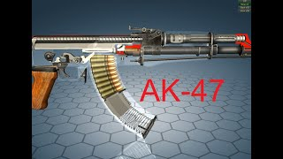 AK-47  How this rifle works.  Avtomat Kalashnikova