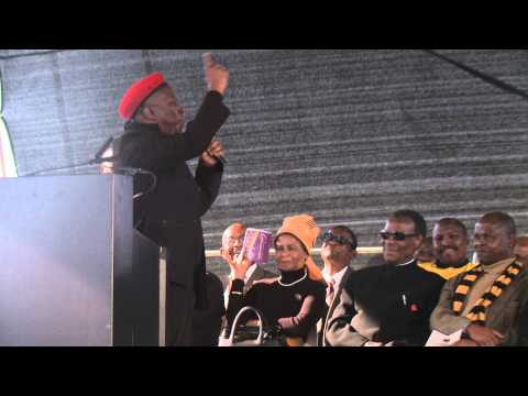 Julius Malema speech Marikana memorial