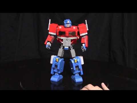 Lego Transformers Optimus Prime Super Articulated Hybrid by BWTMT Brickworks