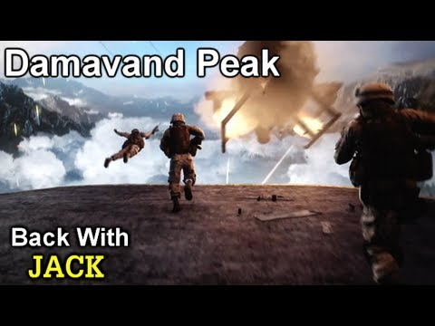 Battlefield 3 Online Gameplay - Damavand Peak AN 94 With Jack