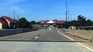 New Hope - Lambertville Toll Bridge westbound
