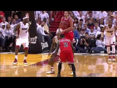 Nate Robinson 27 points 9 assists vs Miami Heat full highlights (NBA Playoffs SF GM1) 05/06/2013 HD