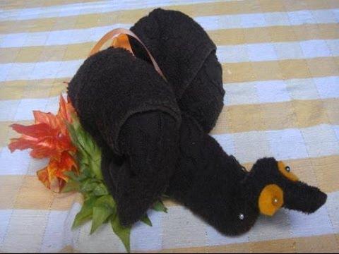 Teknik melipat kain bentuk udang tanpa memotong I.wmv