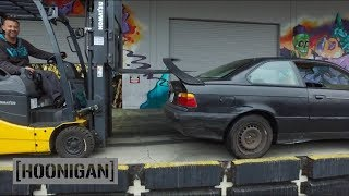 [HOONIGAN] Daily Transmission 008: We buy a $350 BMW for Yard Antics