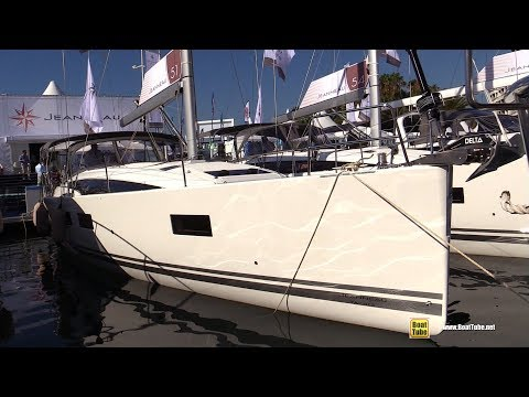 2019 Jeanneau 51 Yacht - Deck and Interior Walkaround - 2018 Cannes Yachting Festival