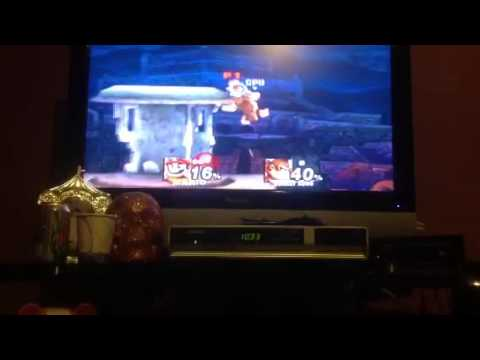 Brawl Tournament Part 14 Mario vs. DK and Yoshi vs. Clause