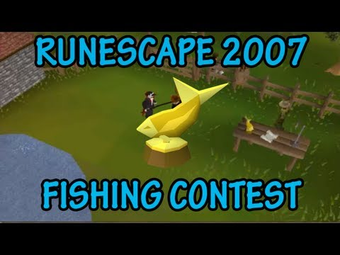 Runescape 2007 – Fishing Contest – Quest Guide