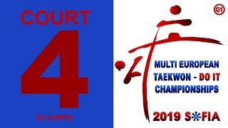 WTE Multi European Championships 2019 COURT 4 DAY1