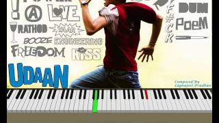 Udaan 2010 movie Theme music on Piano