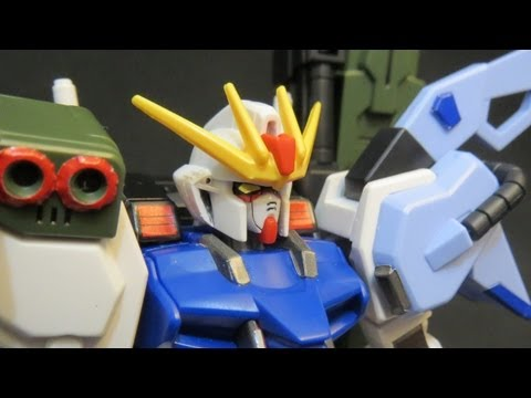 HG Perfect Strike Gundam (1: Unbox) Gundam Seed Mu La Flaga model review ガンプラ