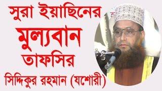New Bangla Waz 2017 by Siddiqur Rahman Jessory l Islamic Waz Bogra