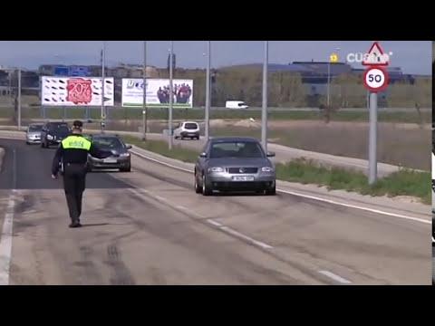 POLICIAS MINUSVALIDOS LEGANES EN CALLEJEROS