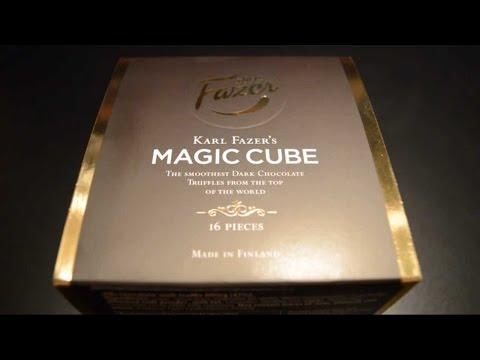 Eating/whisper ASMR: Fazer's Dark Chocolate Truffles