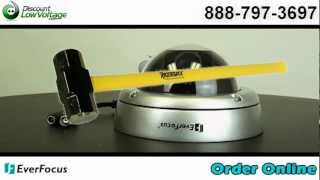 Everfocus ED360 Outdoor Vandal Proof Dome Camera