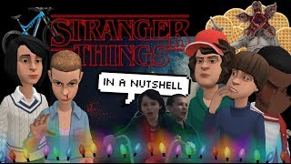 Stranger Things but it's bad and it's made on Plotagon