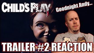 CHILD'S PLAY (2019) - TRAILER #2 REACTION