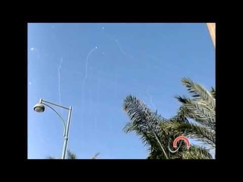 Dios desvia y destruye misiles de Hamas