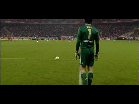Soccer/Football Fail: Petr Čech Goal kick fail!