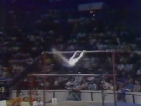 Nadia Comaneci - 1976 Gymnastics All Seven Perfect 10's HQ
