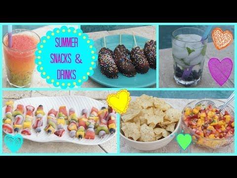 Summer Snacks  amp Dri...