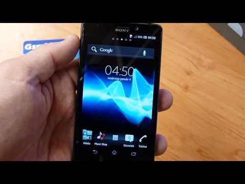 Sony XPERIA T (Skyfall) LT30p GsmLine.hu Demo