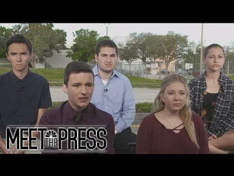 Parkland Students: 'How Many More Students Are Going To Have To Die?' | Meeting The Press | NBC News