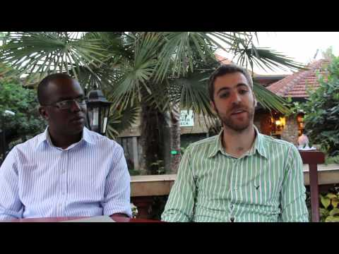 Jeremy Gordon and Caine Kamau on Flashcast, a location aware ad tool for Nairobi's matatus