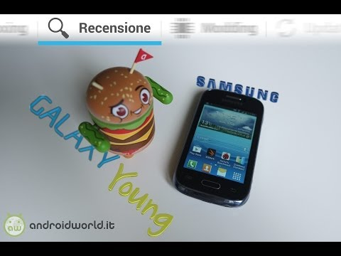 Samsung Galaxy Young. recensione in italiano by AndroidWorld.it
